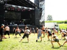 Hard Rock Laager 2016: Heviaeroobika